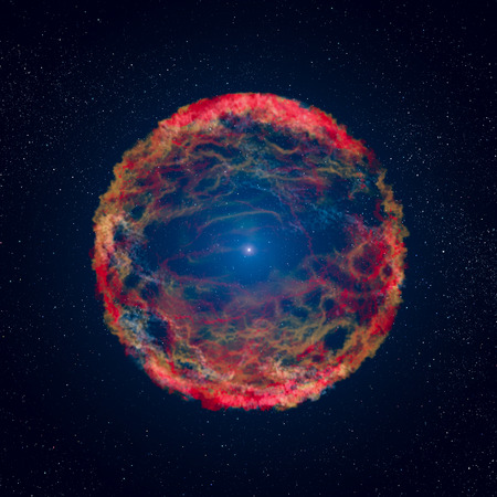 SN 1993J is a supernova observed in the galaxy M81. A supernova formed by the explosion of a giant star.