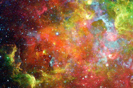 galaxies: Nebula and galaxies in space. Elements of this image furnished by NASA.