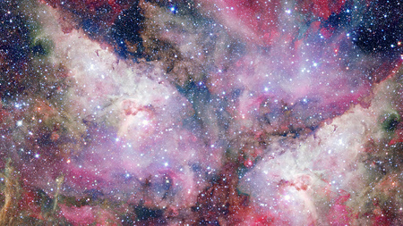galaxies: Nebulae and galaxies. Elements of this Image Furnished by NASA