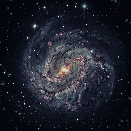messier: Messier 83, Southern Pinwheel Galaxy, M83 or NGC 5236 is a barred spiral galaxy in the constellation Hydra.