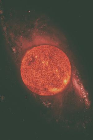 태양계 - 태양. 그것은 태양계의 중심에있는 별입니다. Sun은 G 형 주 계열성이며 비공식적으로 황색 왜성으로 불립니다. 이 이미지의 요소는 NASA에서 제 스톡 콘텐츠