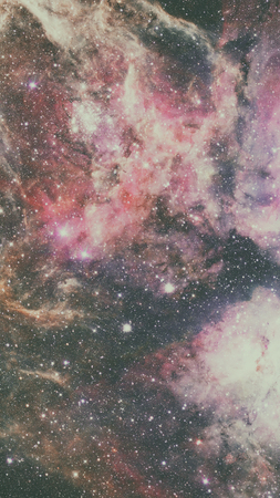 Natural background, abstract space. Elements of this image furnished by NASA. Stock Photo