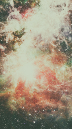 Dreamscape Galaxy. Elements of this Image Furnished by NASA Stock Photo
