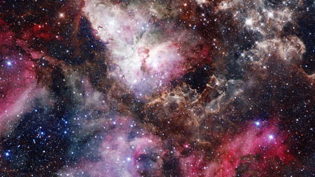 Remnant of the supernova explosion. Elements of this image furnished by NASA.