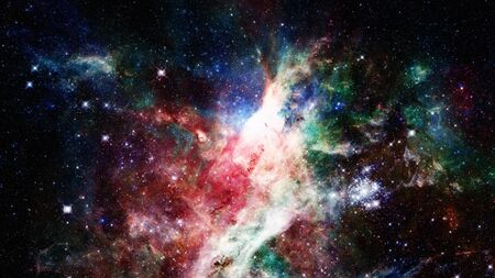 starfield: Natural background, abstract space. Stock Photo