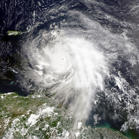 Hurricane Maria. Banco de Imagens