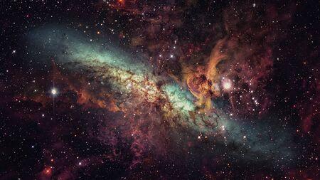 Stars and galaxy space. Archivio Fotografico