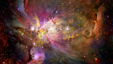 La supernova d'explosion. Étoile brillante. Banque d'images - 92260329