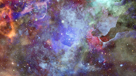 Beautiful nebula and Galaxy.