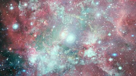 Dreamscape galaxy. Fantasy background