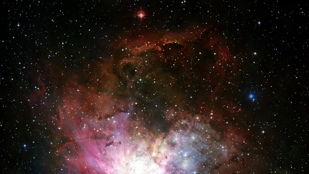 Dreamscape Galaxy. Elements of this image furnished by NASA Foto de archivo
