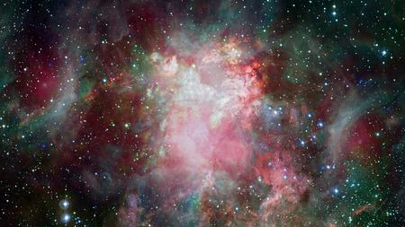 Dreamscape Galaxy. Elementos de esta imagen proporcionada por la NASA