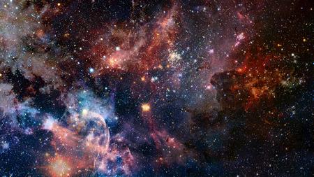 Ciel nocturne avec beaucoup d'étoiles brillantes, fond naturel. Banque d'images