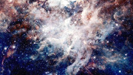 Bursting galaxy.