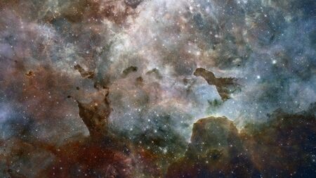The Eagle Nebula in deep.
