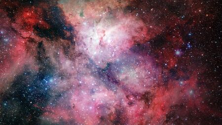 Carina Nebula in outer space.