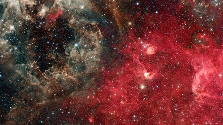 Starry background of deep outer space.