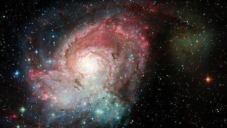 Hubble views galaxy and nebula.