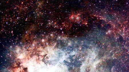 Universo sin fin, imagen de ciencia ficción. Foto de archivo