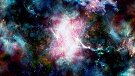 Universe background stars. Archivio Fotografico