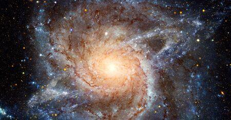 Spiral galaxy. Stok Fotoğraf