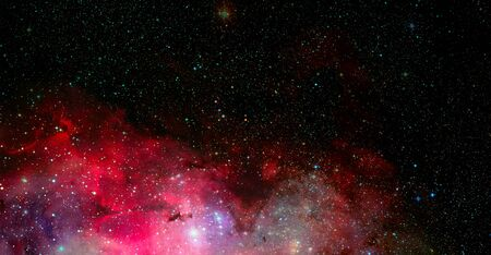 Dark outer space. Stock Photo - 150276458