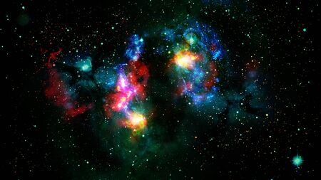 Galaxy about 23 million light years away.