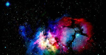 Space art. 版權商用圖片