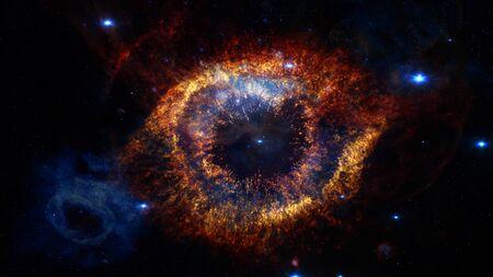 Helix Nebula - God's Eye. 版權商用圖片