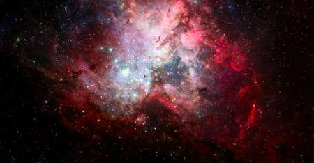 Dark space sky