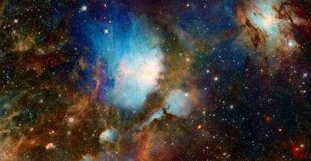 Galaxy shine on space 版權商用圖片