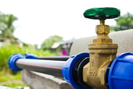 vanne d'eau