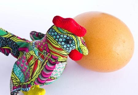 Chicken handmade photo