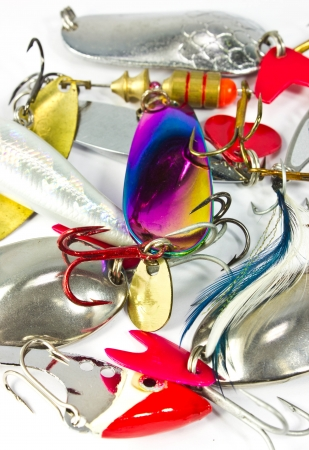 Fishing baits Stock Photo - 15415851