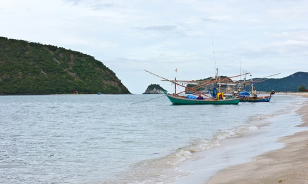Beach and boats. photo