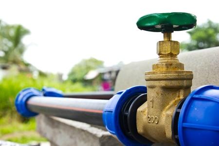 valve: water valve