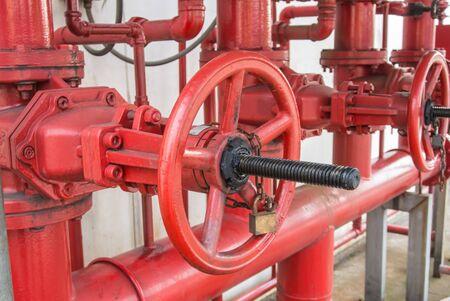 Water valve for fire fighting systems Reklamní fotografie