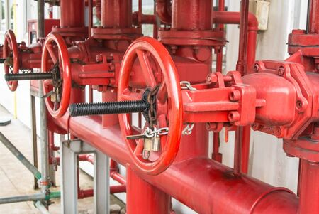 Water valve for fire fighting systems