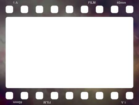 schwarz: Filmstreifen Alt