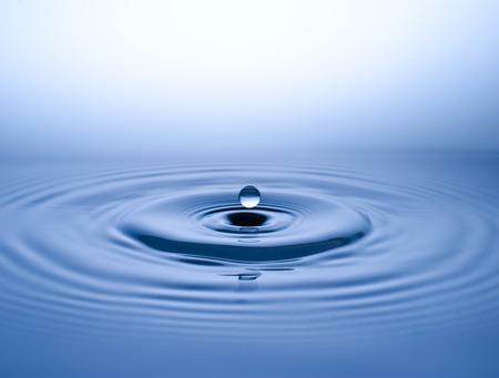 水玉、滴水の滴 写真素材
