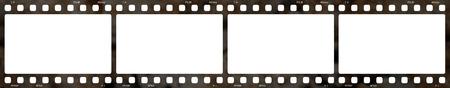 Old film strip 4x