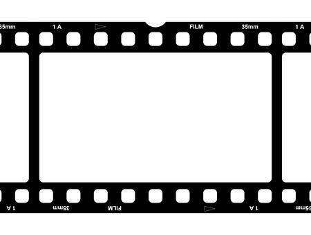 Film strip photo Banco de Imagens