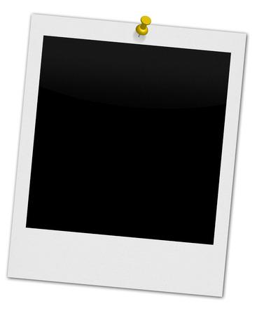 Polaroid with Yellow Pin