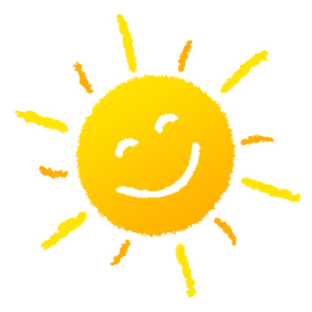 Sun laughing