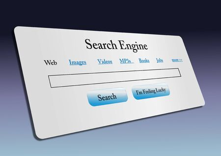 Concept of internet web search  Stock Photo - 9182667