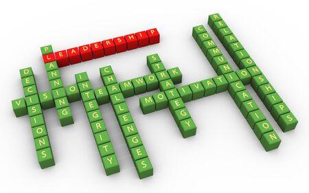 3d crossword of outstanding leadership skills