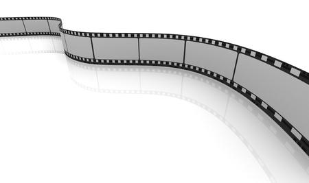 3d render of blank movie reel Stock Photo - 10676946