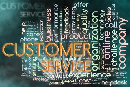 relation clients: Illustration de mots wordcloud repr�sentant li�e au service � la client�le