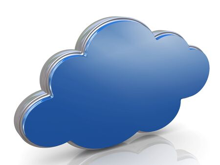 3d render of concept of cloud computing Stock Photo - 13278511