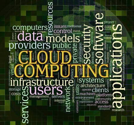 Illustration of wordcloud related to